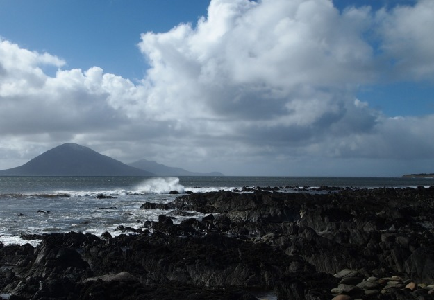 Looking out toward Achil Island, Co Mayo